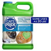 Cat's Pride Triple Odor Guard Unscented, 15 lb Jug