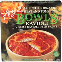 Amy's Bowls Cheese Ravioli with Sauce