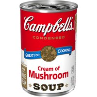 Campbell's Condensed Cream of Mushroom Soup, 10.5 oz. Can