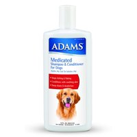 Adams Medicated Shampoo & Conditioner for Dogs 12 Ounces