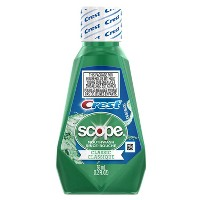 Crest Scope Classic Mouthwash Original Formula - 1.2 fl oz
