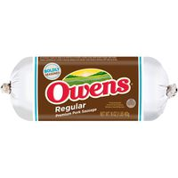 Owens Regular Pork Sausage