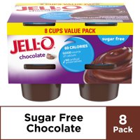 Jell-O Sugar Free Ready to Eat Chocolate Pudding, 8 ct - 29.0 oz Package