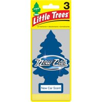 Little Trees Air Fresheners New Car Scent Fragrance 3-Pack
