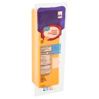 Great Value Sharp Cheddar Cheese, 4 lb