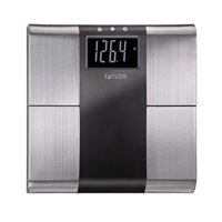 Taylor 5780F Stainless Steel Body Analysis Bathroom Scale