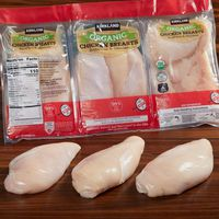 Kirkland Signature Organic Boneless & Skinless Chicken Breasts