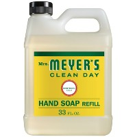 Mrs. Meyer's Honeysuckle Liquid Hand Soap Refill - 33 fl oz