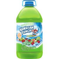Hawaiian Punch Juice Green Berry Rush, 128 Fl. Oz.