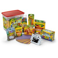 Crayola Colossal Creativity Tub, Art and Craft Supplies, Art Set Gift, 90 Pieces