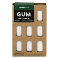 Starbucks Gum Peppermint