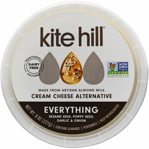 Kite Hill Cream Cheese, Everything