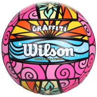 Wilson Official Size and Weight Graffiti Volleyball