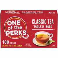 One of the Perks Classic Tagless Tea Bags