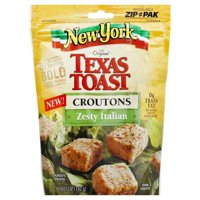 New York Brand Texas Toast Zesty Italian Croutons, 5 oz
