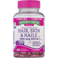 Nature's Truth Organic Natures Truth Biotin, Hair, Skin & Nails, Superior Strength
