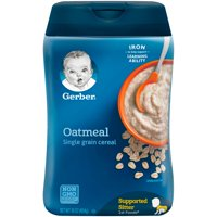 GERBER Single-Grain Oatmeal Baby Cereal 16 oz