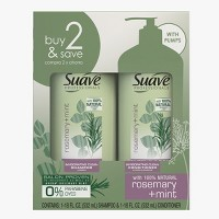 Suave Professionals Rosemary + Mint Shampoo & Conditioner Set - 2pk