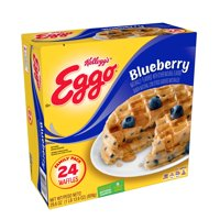 Kellogg's Eggo Blueberry Waffles Easy Breakfast 29.6 oz 24 ct