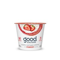 Good Culture 2% Milkfat Strawberry Cottage Cheese - 5.3oz
