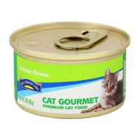 Hill Country Fare Cat Gourmet Chicken Dinner Cat Food