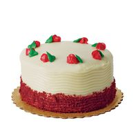 H-E-B 6 Inch Sensational Red Velvet Cake With Cream Cheese Icing