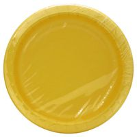 Sensations Plates, Soft Yellow