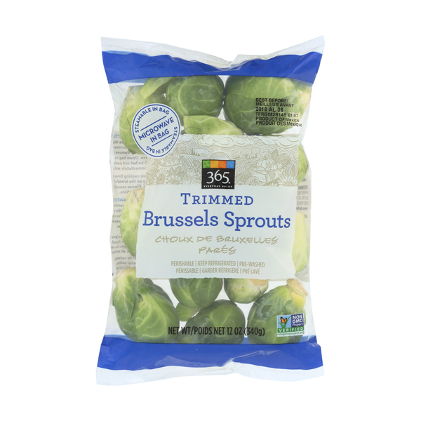 365 everyday value® Trimmed Brussels Sprouts, 12 oz