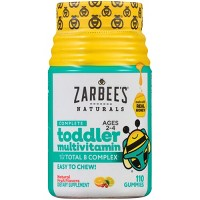 Zarbee's Naturals Toddler Complete Multivitamin Easy Chew Gummies - Natural Fruit Flavor - 110ct