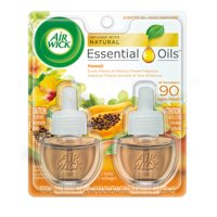 Air Wick Plug in Scented Oil Starter Kit, 2 ct, Hawaii, Air Freshener, Essential Oils