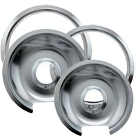 Range Kleen Drip Pan & Trim Ring, 4 Piece