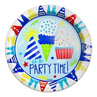 """Party Time"" Paper Plates, 7 in, 10ct"