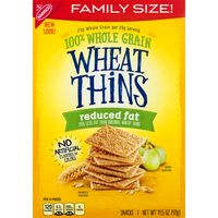 Wheat Thins Nabisco  Reduced Fat