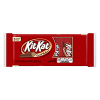 KitKat Snack Size Milk Chocolate Crisp Wafer Candy Bars, 0.49 Oz., 5 Count