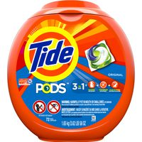 Tide Pods Liquid Laundry Detergent Pacs, Original