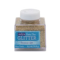 Sulyn 2.5 Oz. Extra Fine Champagne Gold Glitter