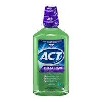 ACT® Total Care Anticavity Fluoride Fresh Mint Mouthwash, 33.8oz