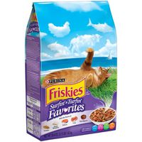 Purina Friskies Dry Cat Food, Surfin' & Turfin' Favorites