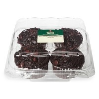 Double Chocolate Chip Muffins - 4ct - Archer Farms™