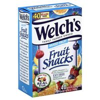 Welch's Fruit Snacks, Mixed Fruit, Box