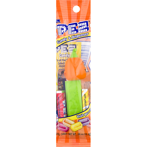 Pez Candy & Dispenser, Wrapper