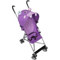 Cosco Comfort Height Character Umbrella Stroller, Purple Hippo