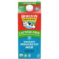 Horizon Organic Lactose-Free Reduced Fat Organic Whole Milk