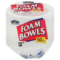 Hill Country Fare Everyday Foam Bowls 12 Oz