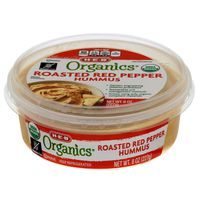 H-E-B Organic Roasted Red Pepper Hummus