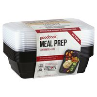 Goodcook Containers + Lids, Meal Prep, 10 Pack