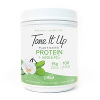 Tone It Up Protein + Greens Powder - Vanilla - 11.35oz