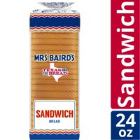 Mrs Baird's Sandwich White Bread, 24 oz