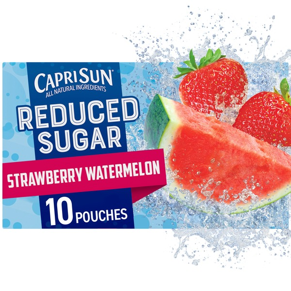 Capri Sun Reduced Strawberry Watermelon Juice
