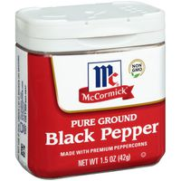 McCormick® Ground Pepper Black